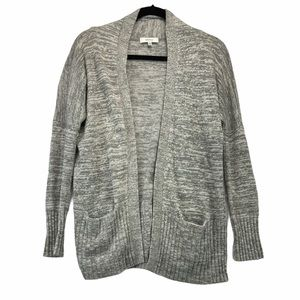 Aritzia Talula Angora Cashmere Sweater Cardigan